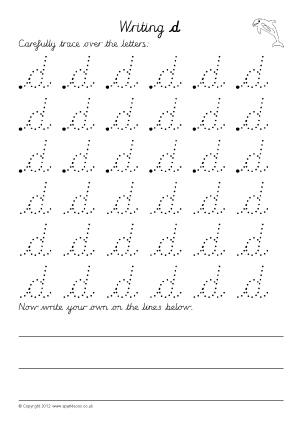 Number Names Worksheets : free alphabet writing worksheets ~ Free ...