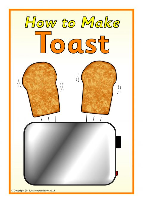 how to make toast instructions  sb9441