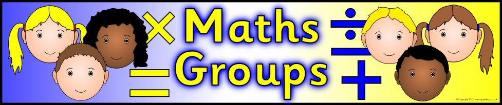 Maths Groups Display Banner (SB8261) - SparkleBox
