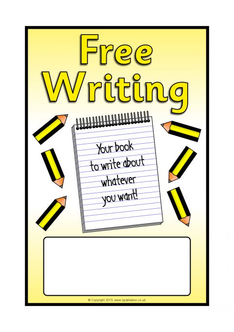 writing images clip art