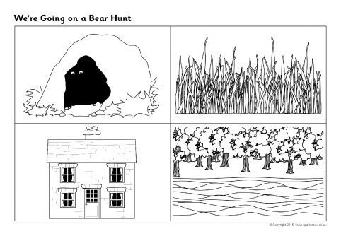 We re Going on a Bear Hunt Sequencing