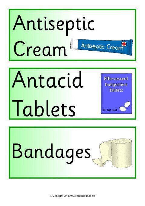 Pharmacy Chemist Role Play Pack