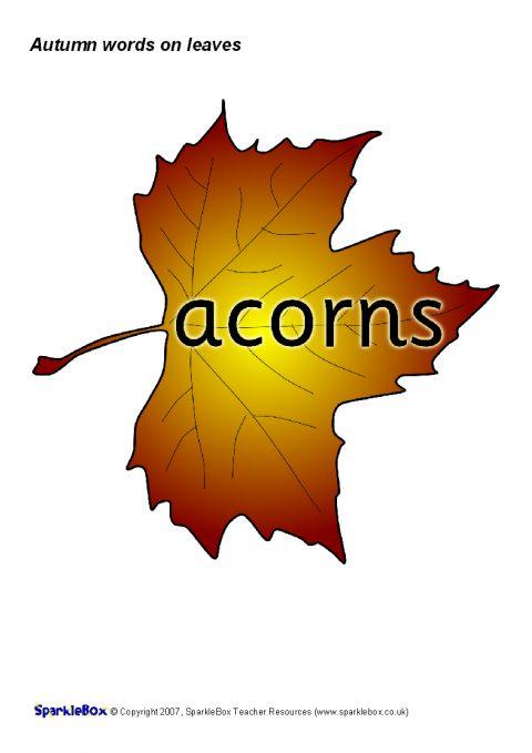 Autumn Season Primary Teaching Resources and Printables  SparkleBox
