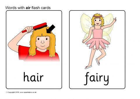 Words With Air Phonics Activities And Printable Teaching Resources