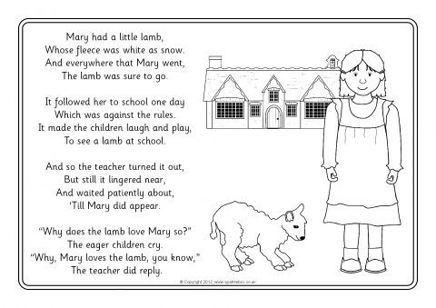 Nursery Rhyme Colouring Sheets Coloring Pages