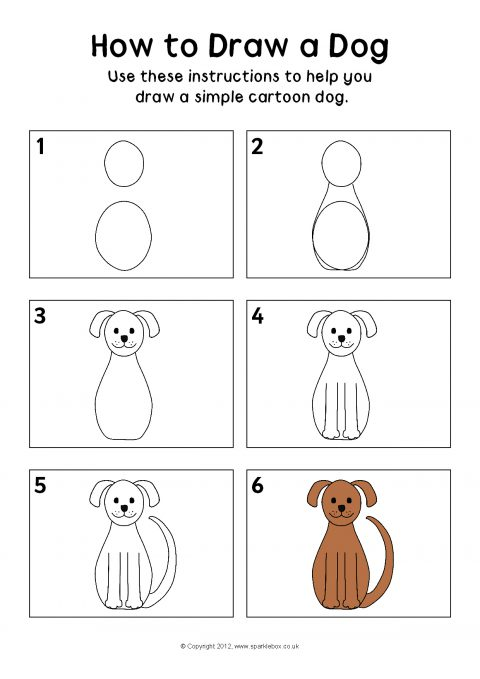 How to Draw Super Dog Step by Step  Easy Drawings for