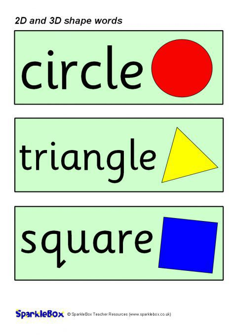 Ks1 And Ks2 Shapes Teaching Resources And Printables Sparklebox