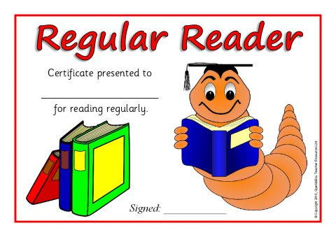 Ks1 ks2 printable reading certificates awards sparklebox view preview yadclub Choice Image
