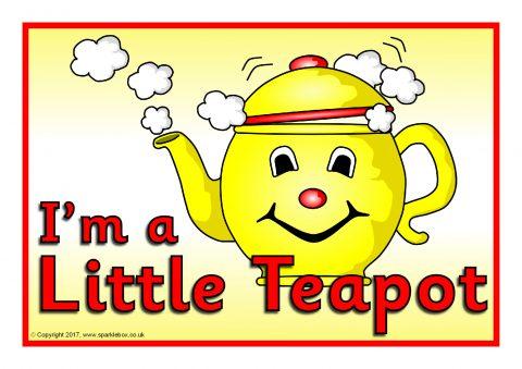 Lyrics to im a little tea pot