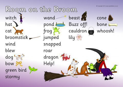 Room on the Broom Teaching Resources & Story Sack Printables ...