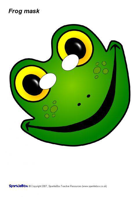 Frog Role Play Mask Sb1069 Sparklebox
