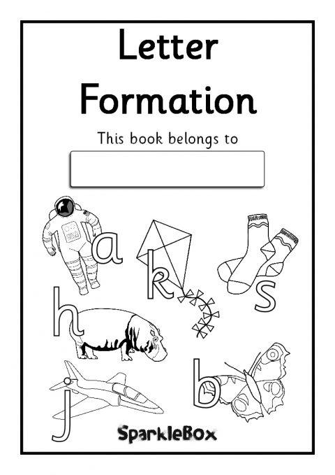 letter formation booklets
