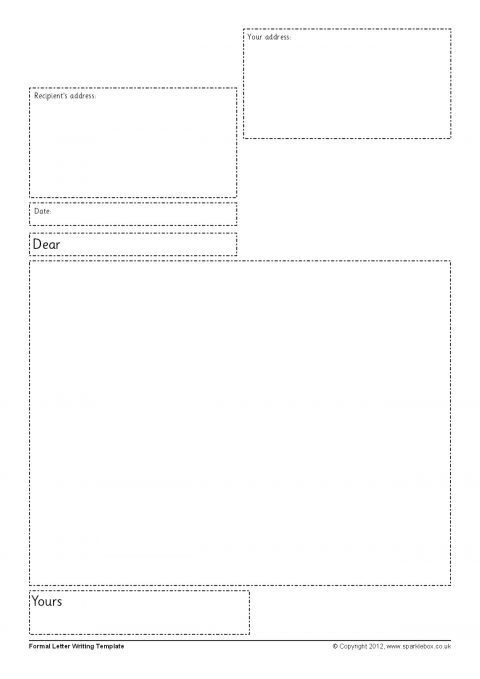 letter writing frames and printable page borders ks1 ks2 sparklebox