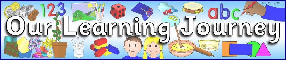 Our Learning Journey Display Banner (SB3074) - SparkleBox