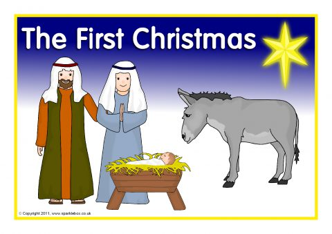 The First Christmas Visual Aids SB1083