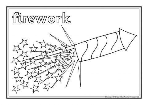 Bonfire Night Colouring Sheets (SB3262) - SparkleBox