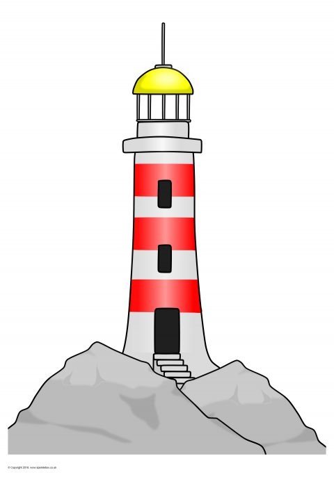 Giant Lighthouse Picture for Display (SB11732) - SparkleBox