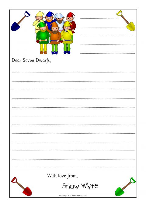 Letter writing frames and printable page borders ks1 ks2 sparklebox view preview spiritdancerdesigns Image collections