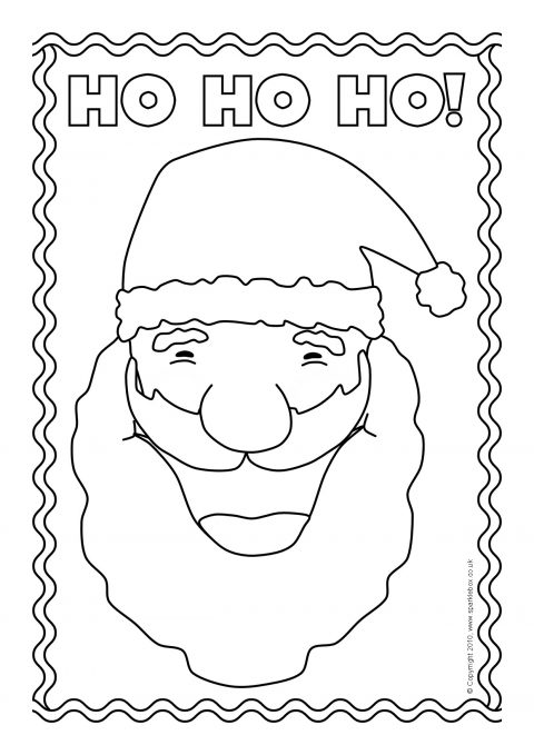 colouring sheets featuring things associated with christmas preview