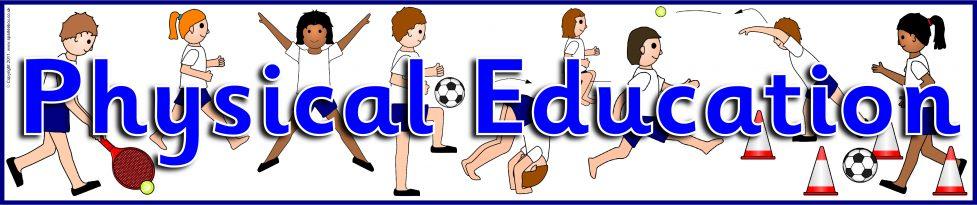 Physical Education Display Banner (SB6448) - SparkleBox