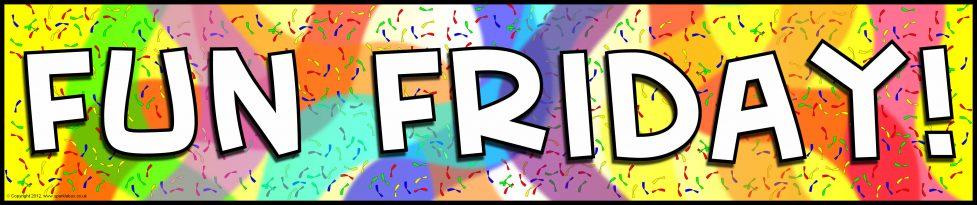 Fun Friday Display Banner (SB7714) - SparkleBox