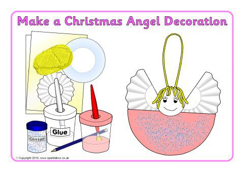 a simple christmas tree angel decoration preview - A Christmas Angel