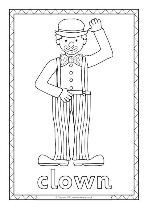 Free Printable Colouring Sheets - SparkleBox