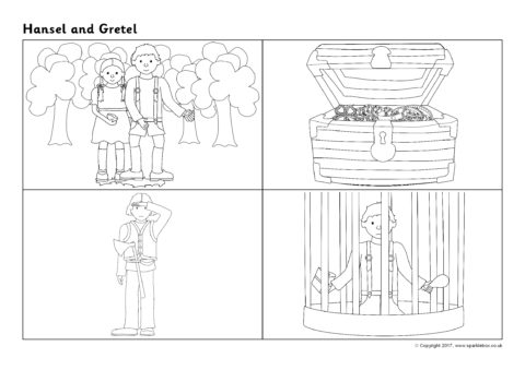 Hansel and Gretel Sequencing Sheets   Related Items