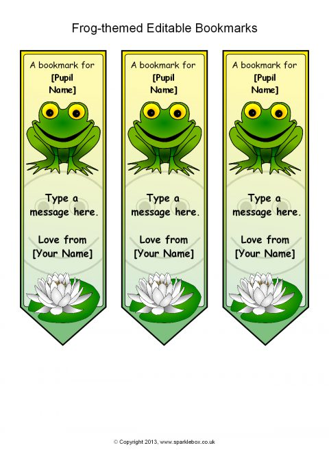Printable Award Bookmarks For Primary Ks  Ks  Sparklebox