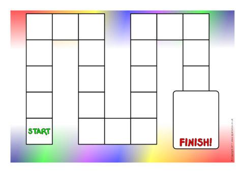 Editable Board Game Templates Sb6941 Sparklebox