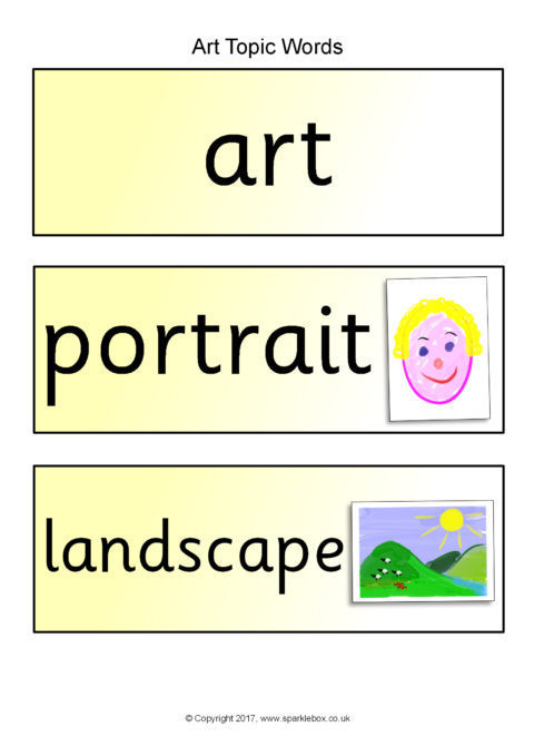 Art Primary Teaching Resources and Printables - SparkleBox