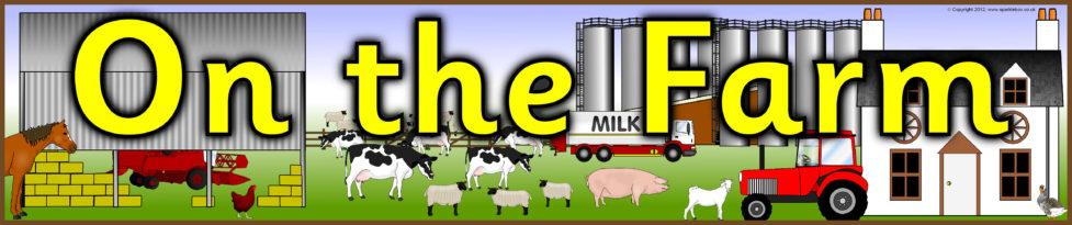 on the farm display banner  sb7157