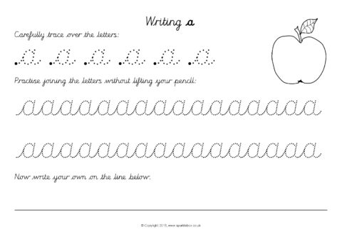 Create Handwriting Worksheets Printable