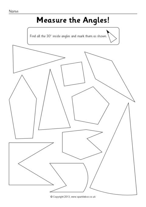Ks2 Key Stage Two Angles Teaching Resources And Printables