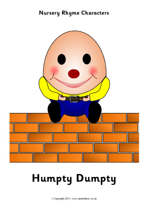 Nursery Rhyme Character Sheets Sb1314 Sparklebox