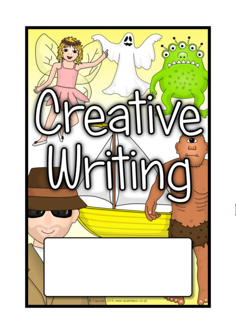 Literacy Book Cover Template : Advertisement