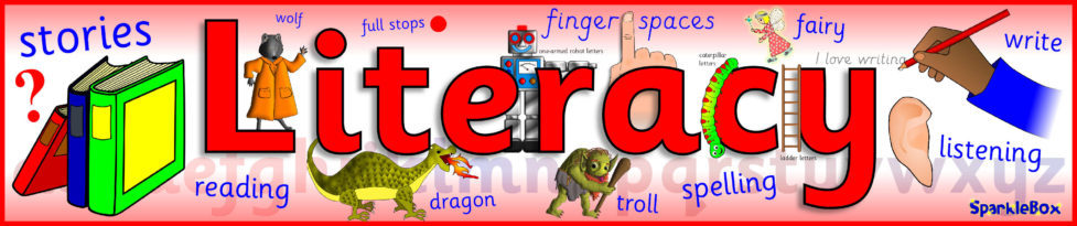Image result for literacy banner