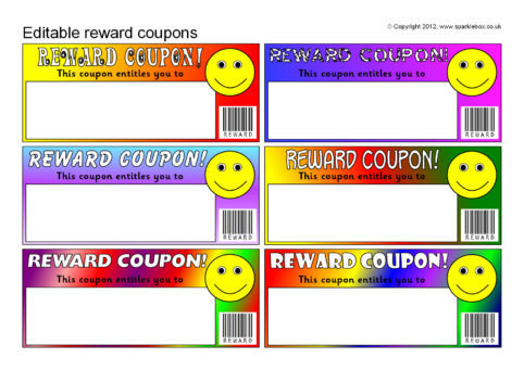 Image Result For Reward Coupon Template