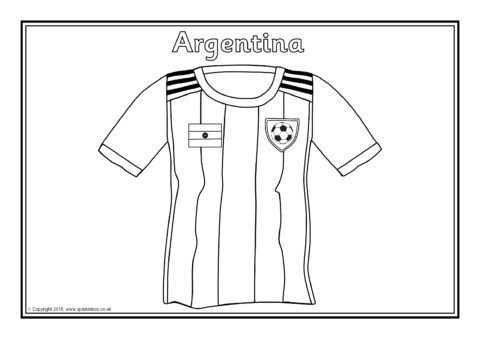 2018 world cup team shirts colouring sheets sb12513 for World cup coloring pages