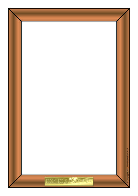 picture frame a4 page borders  sb3802