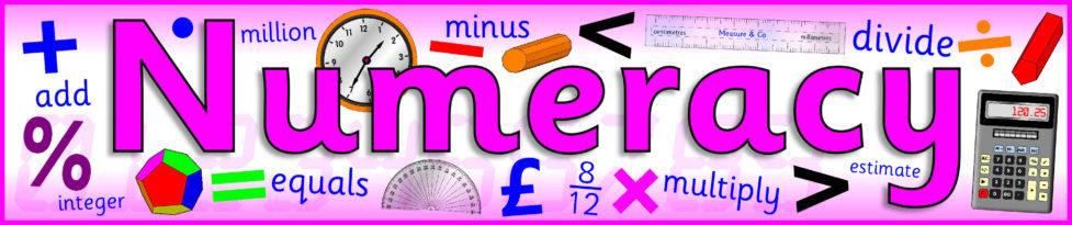 KS2 Maths/Numeracy Display Banners (SB6701) - SparkleBox