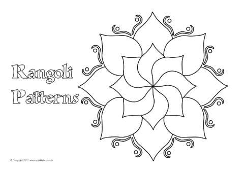 rangoli coloring pages - 28 images - 200 best happy diwali images ... | 339x480
