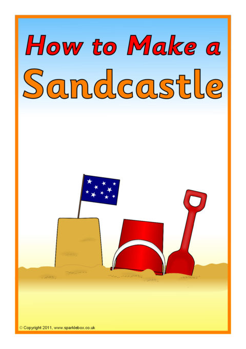how to make a sandcastle instructions  sb5348