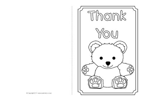 It is a graphic of Current Coloring Thank You Cards
