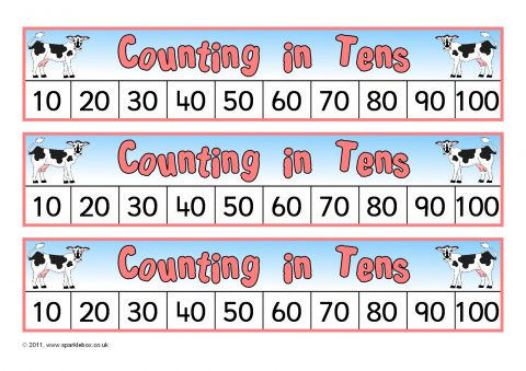 Counting In 10s Primary Teaching Resources And Printables Sparklebox