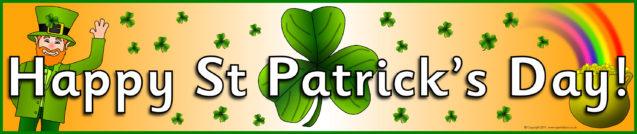 St Patrick's Day (Ireland) Printables for Primary School - SparkleBox