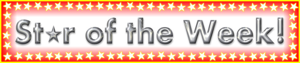 Image result for star of the week banner