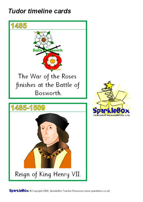 The Tudors Primary Teaching Resources And Printables Sparklebox