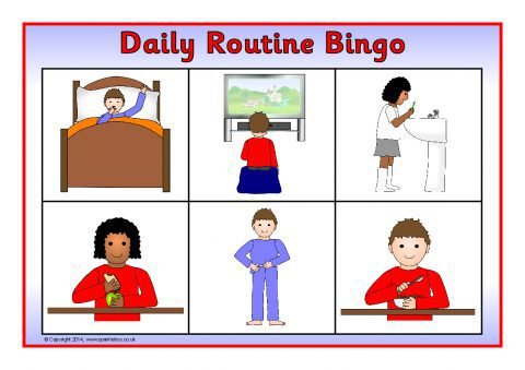 Daily routine teaching resources printables for early years ks1 view preview gumiabroncs Gallery