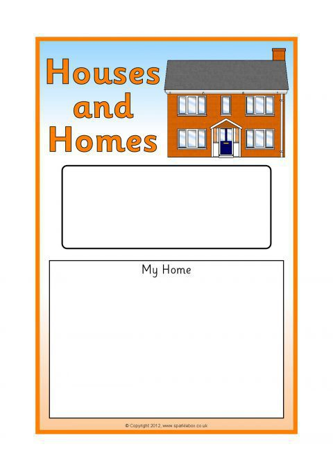 Buildings Houses And Homes Primary Teaching Resources Printables